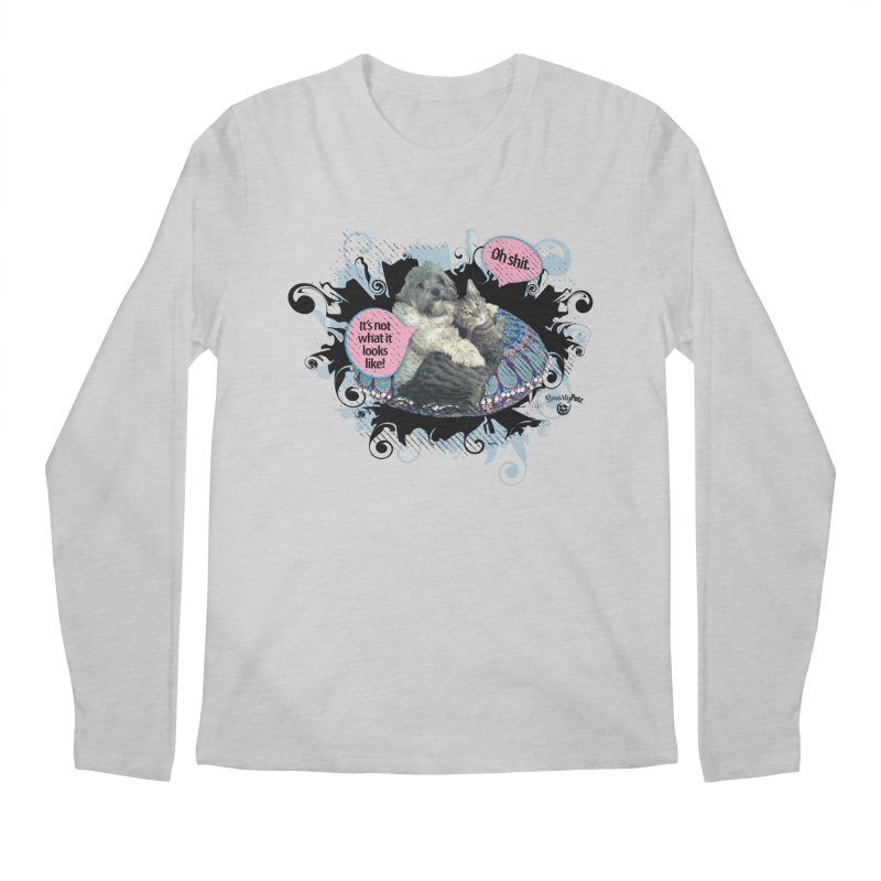 It's not what it looks like. Men's Regular Longsleeve T-Shirt by SmartyPetz's Artist Shop