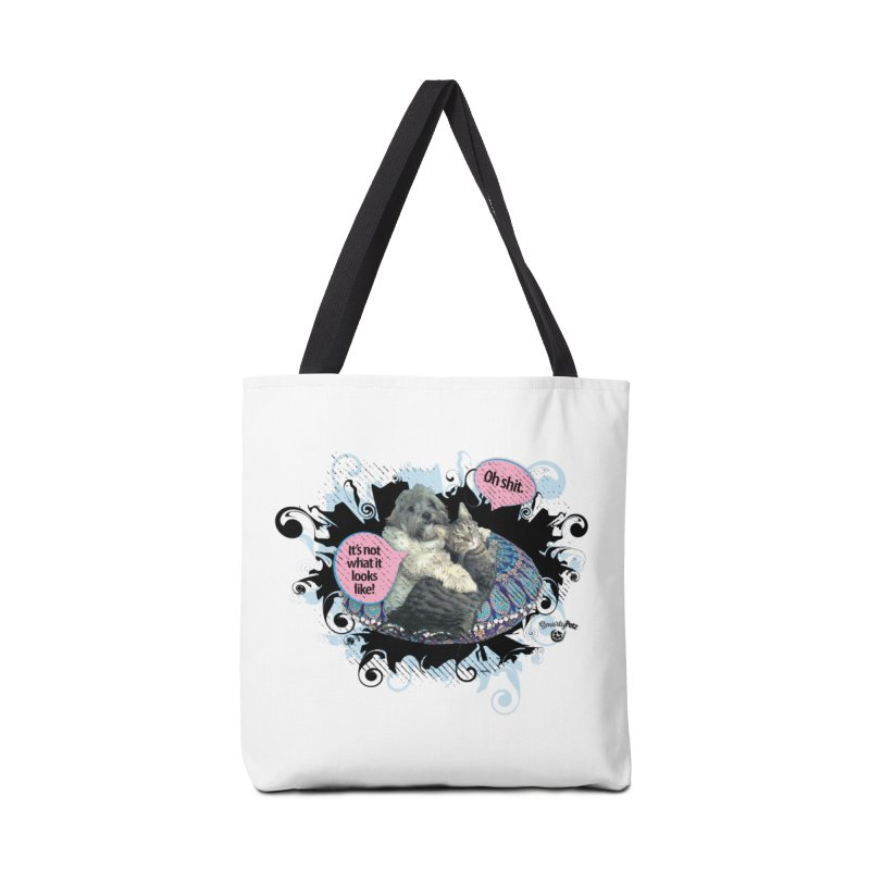 It's not what it looks like. Accessories Bag by SmartyPetz's Artist Shop