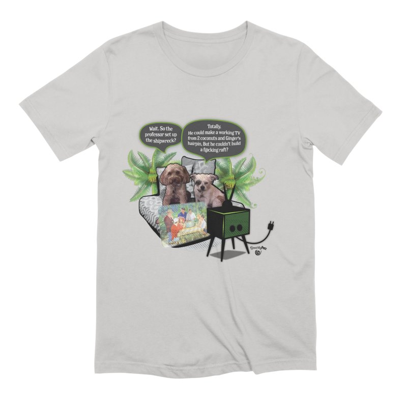 Shipwrecked Men's Extra Soft T-Shirt by SmartyPetz's Artist Shop