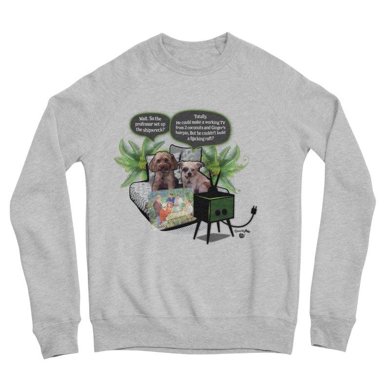 Shipwrecked Women's Sponge Fleece Sweatshirt by SmartyPetz's Artist Shop