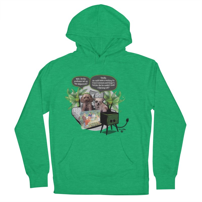 Shipwrecked Women's French Terry Pullover Hoody by Smarty Petz's Artist Shop