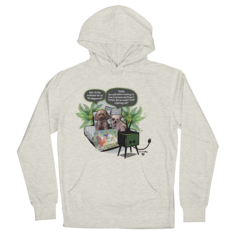 Shipwrecked Women's French Terry Pullover Hoody by SmartyPetz's Artist Shop