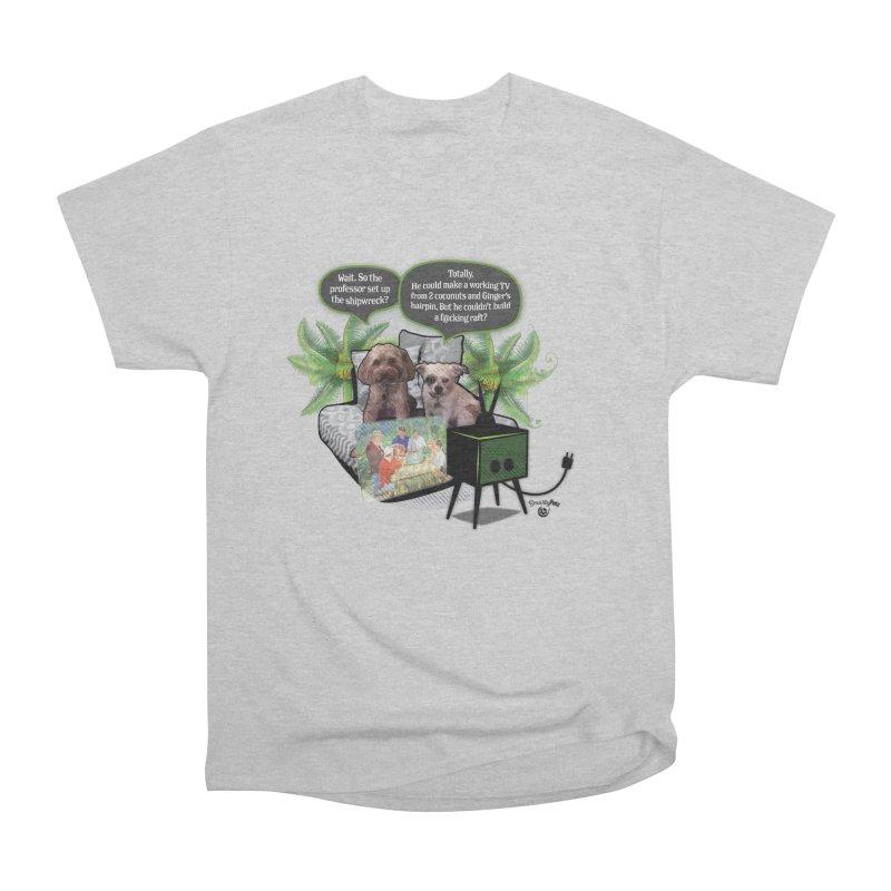 Shipwrecked Men's Heavyweight T-Shirt by SmartyPetz's Artist Shop