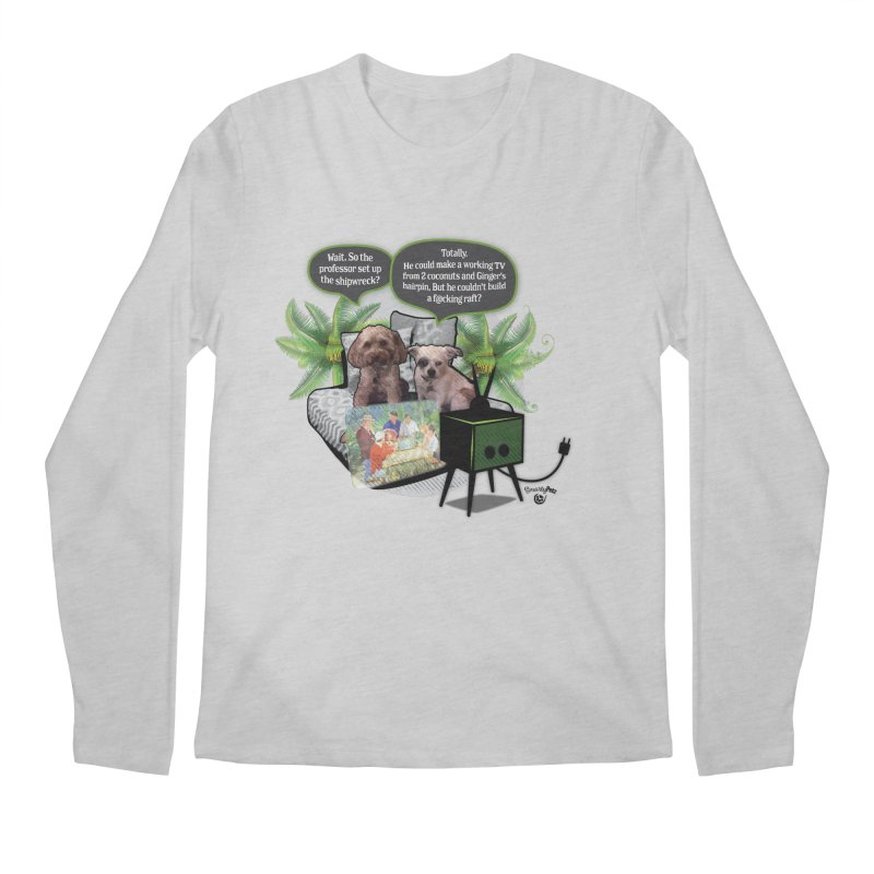 Shipwrecked Men's Regular Longsleeve T-Shirt by SmartyPetz's Artist Shop