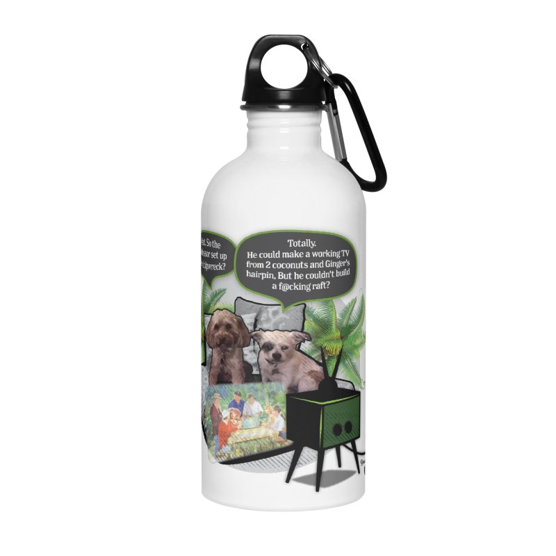 Shipwrecked Accessories Water Bottle by SmartyPetz's Artist Shop
