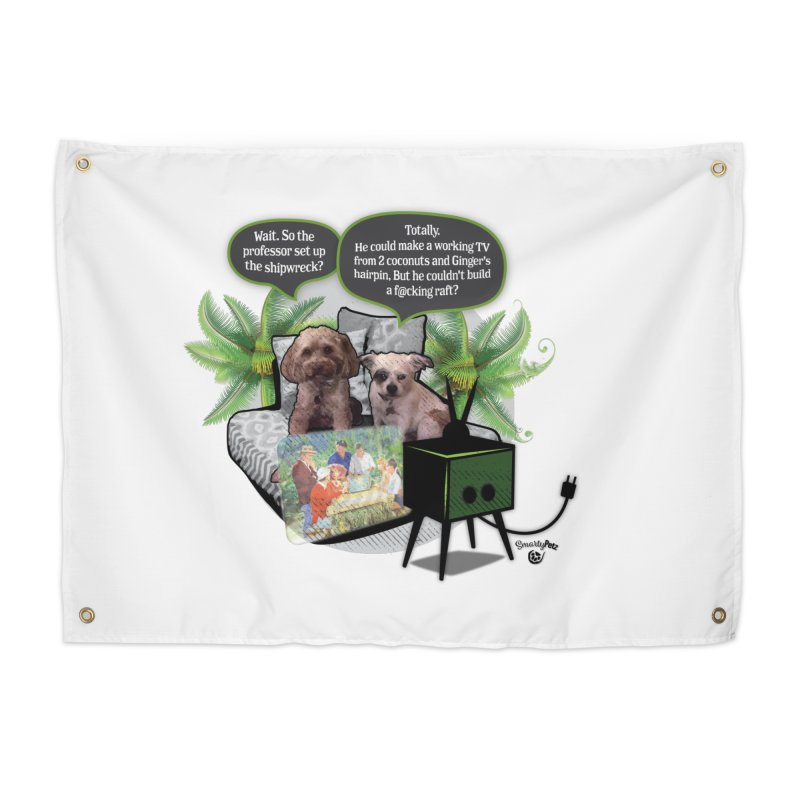 Shipwrecked Home Tapestry by SmartyPetz's Artist Shop