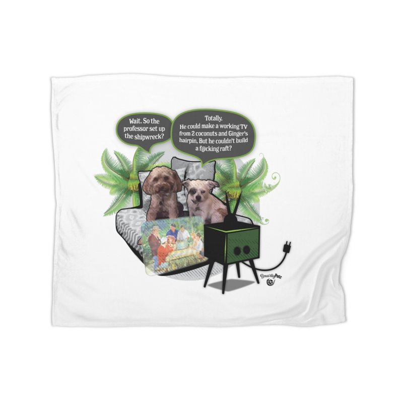 Shipwrecked Home Blanket by SmartyPetz's Artist Shop