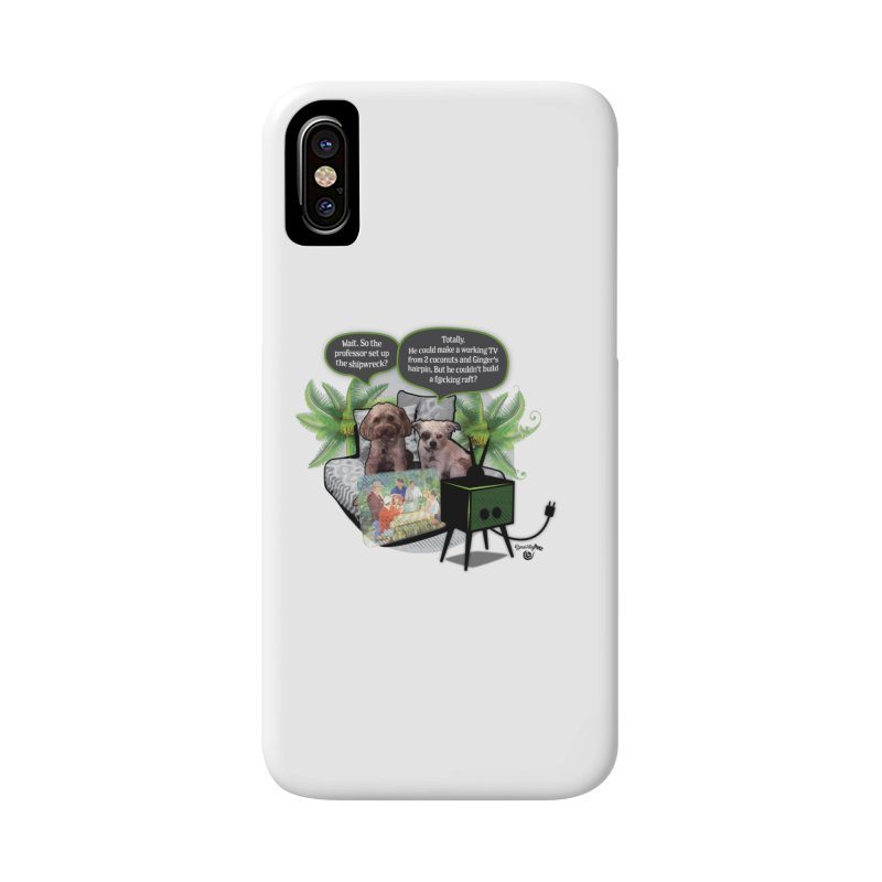 Shipwrecked Accessories Phone Case by SmartyPetz's Artist Shop