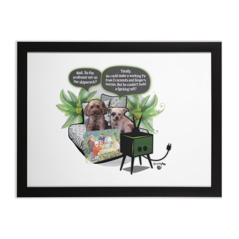 Shipwrecked Home Framed Fine Art Print by Smarty Petz's Artist Shop