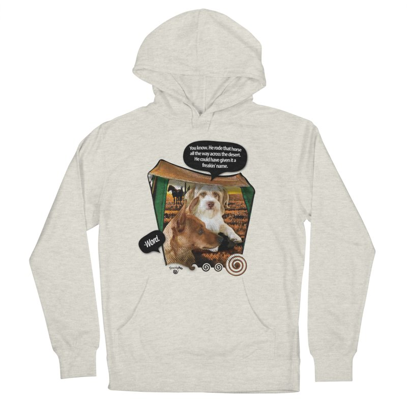 Horse with no name. Women's French Terry Pullover Hoody by SmartyPetz's Artist Shop