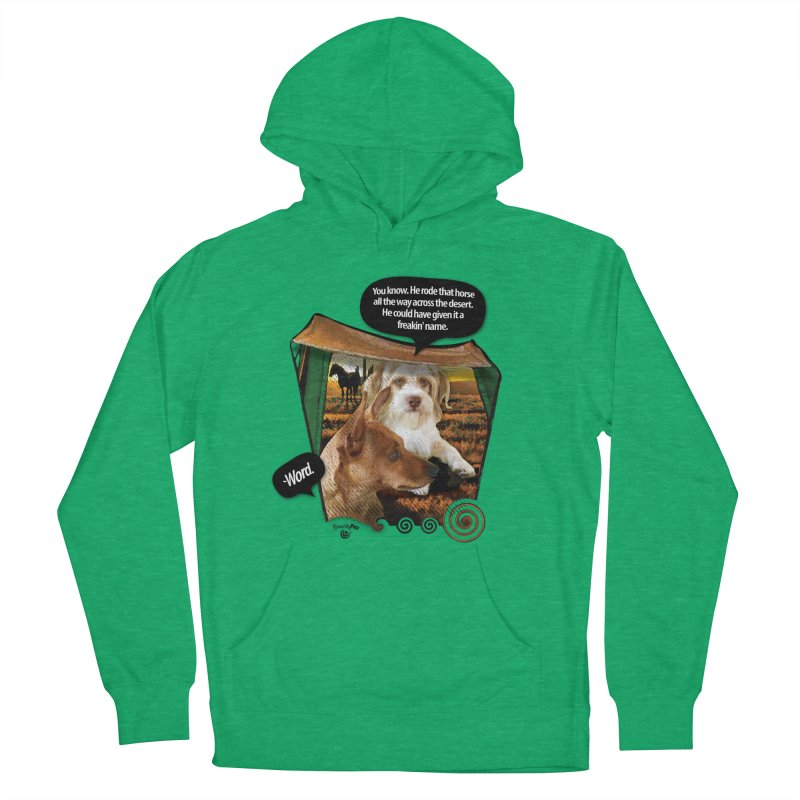 Horse with no name. Men's French Terry Pullover Hoody by SmartyPetz's Artist Shop