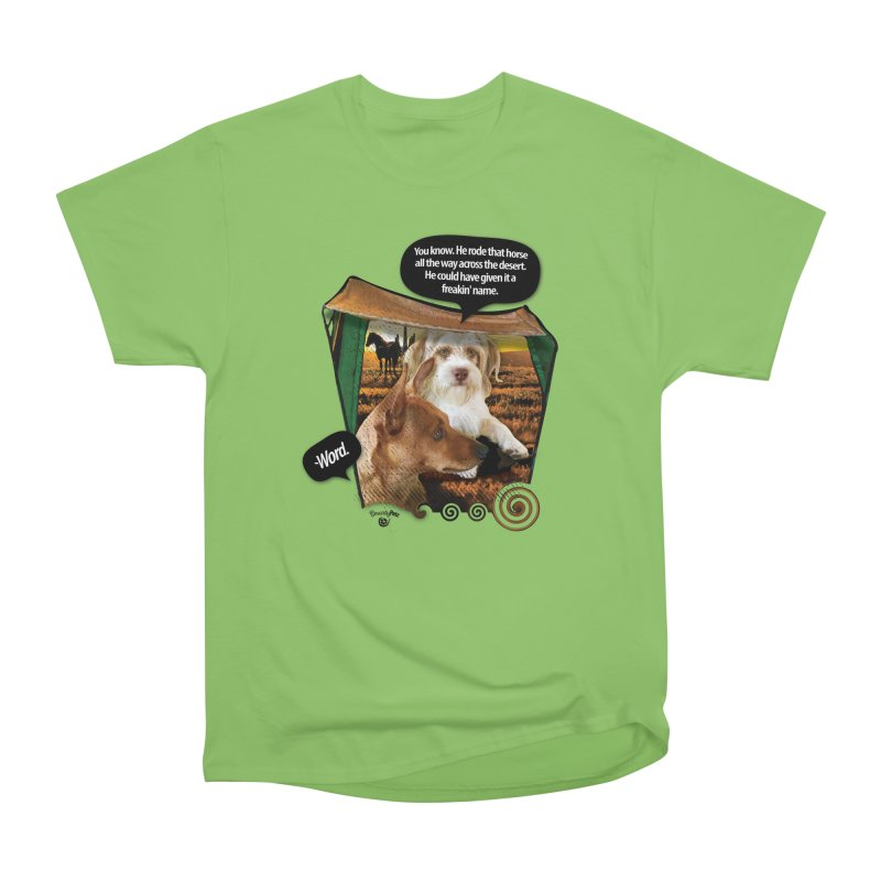 Horse with no name. Men's Heavyweight T-Shirt by SmartyPetz's Artist Shop