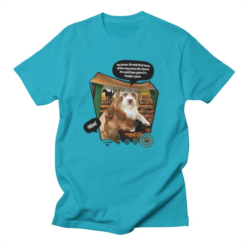 Horse with no name. Men's Regular T-Shirt by SmartyPetz's Artist Shop