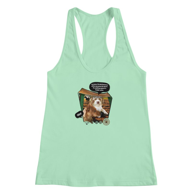 Horse with no name. Women's Racerback Tank by SmartyPetz's Artist Shop