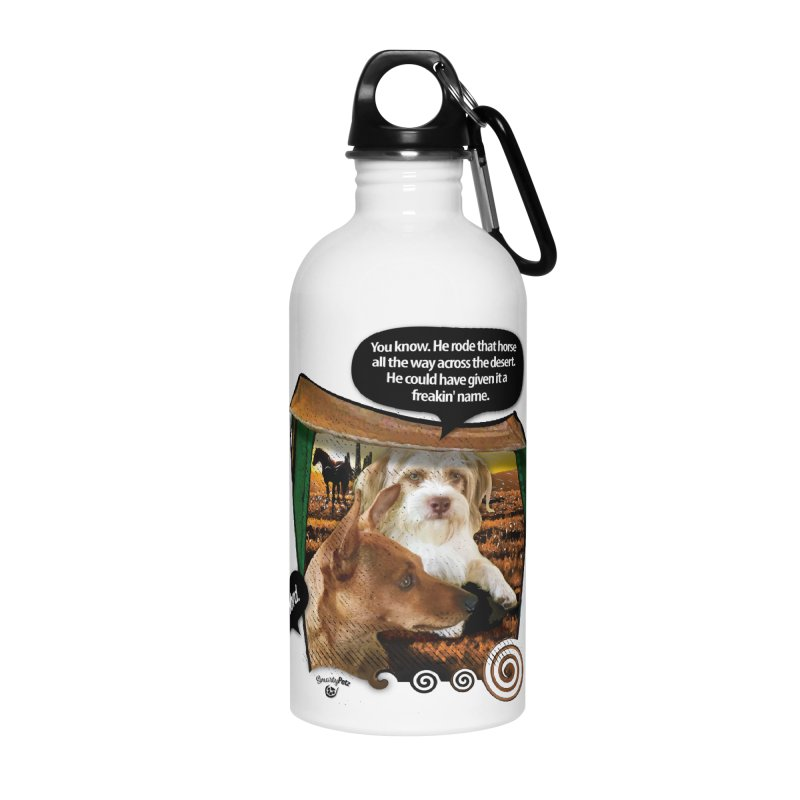 Horse with no name. Accessories Water Bottle by SmartyPetz's Artist Shop