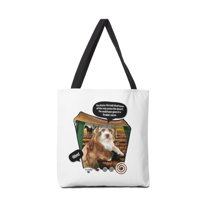 Horse with no name. Accessories Bag by SmartyPetz's Artist Shop