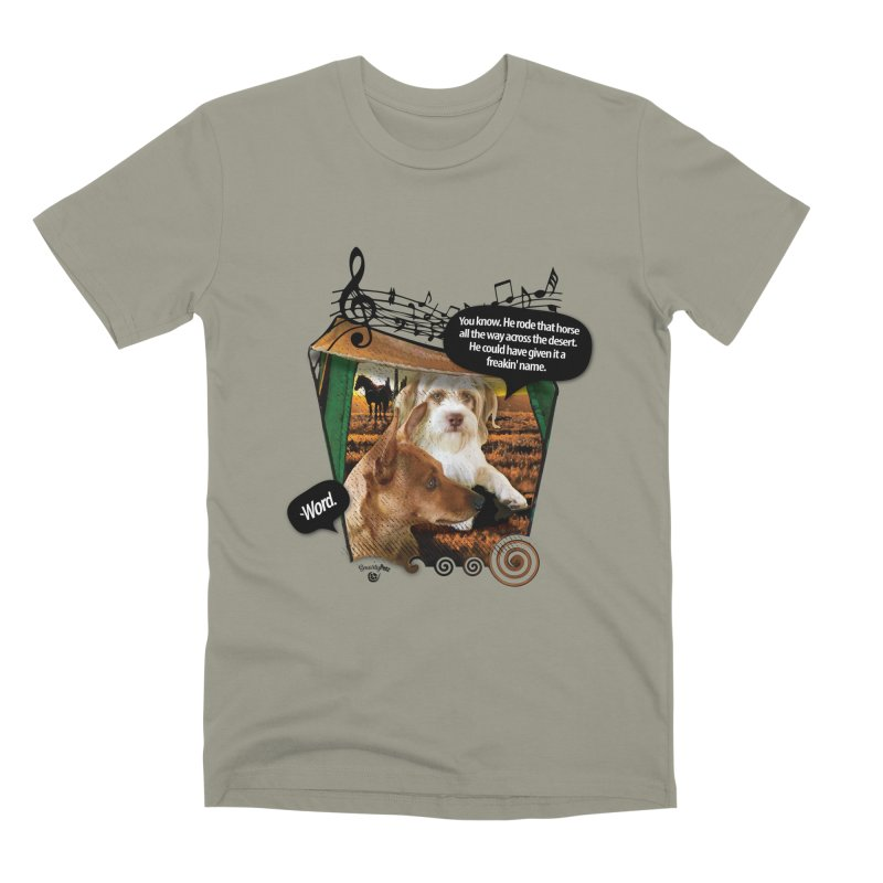 Horse with no name. Men's Premium T-Shirt by Smarty Petz's Artist Shop