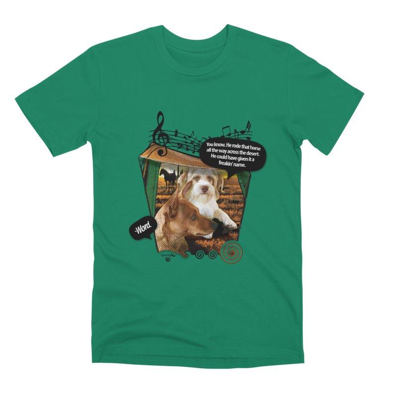 Horse with no name. Men's Premium T-Shirt by Smarty Petz's Artist Shop