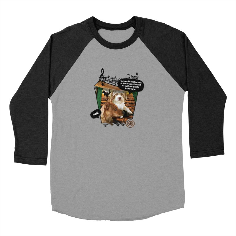 Horse with no name. Men's Longsleeve T-Shirt by Smarty Petz's Artist Shop