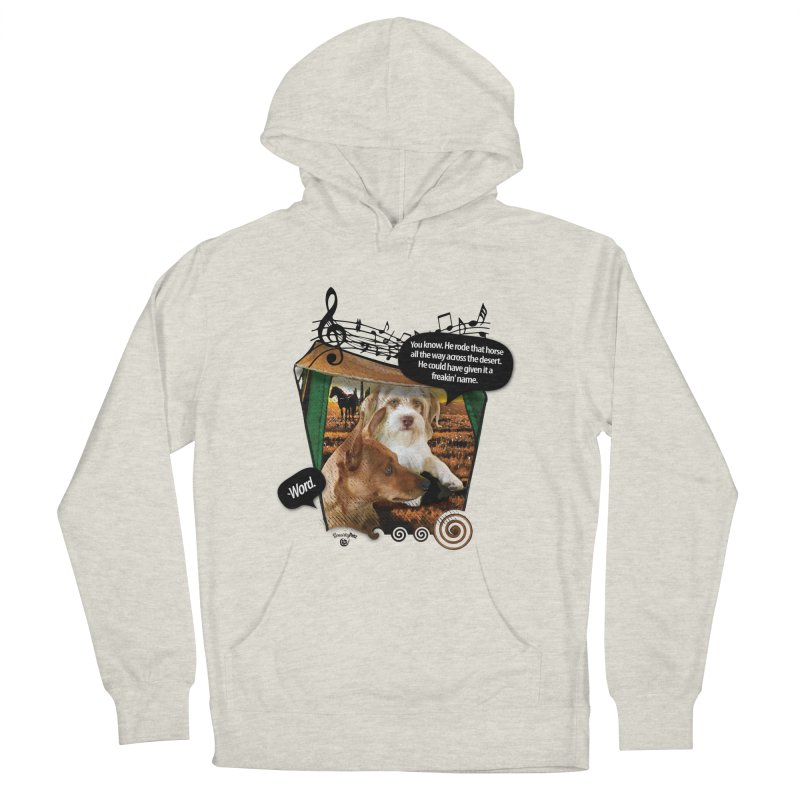 Horse with no name. Women's French Terry Pullover Hoody by Smarty Petz's Artist Shop