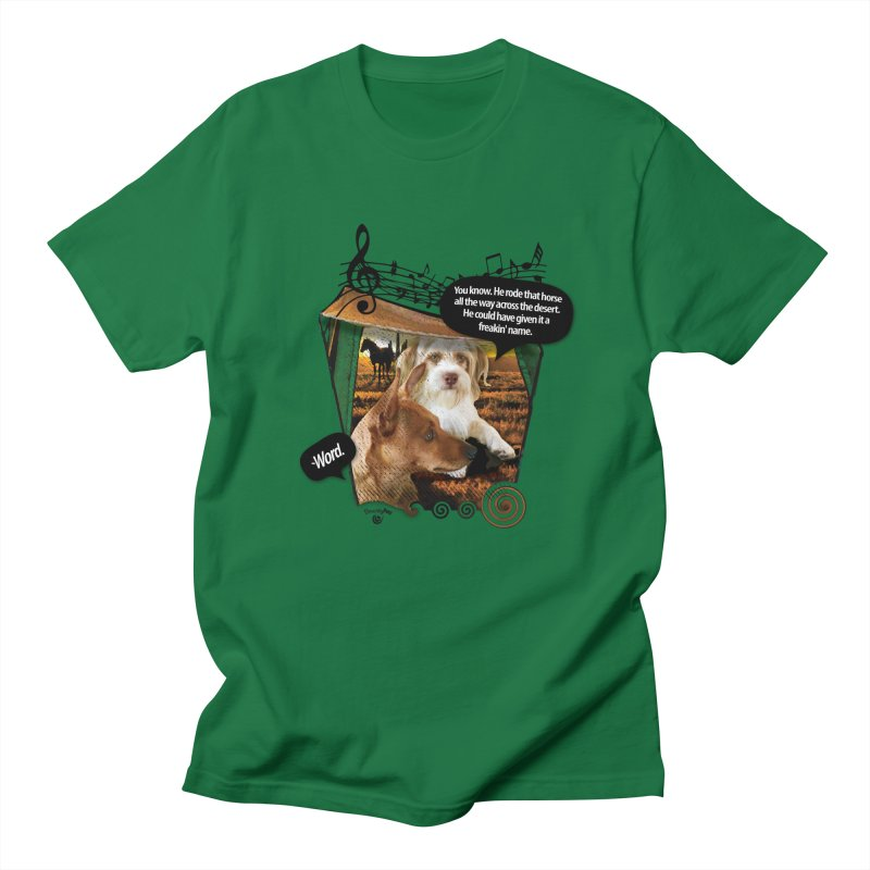 Horse with no name. Men's T-Shirt by Smarty Petz's Artist Shop