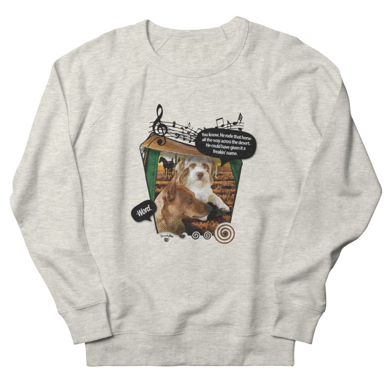 Horse with no name. Men's Sweatshirt by Smarty Petz's Artist Shop