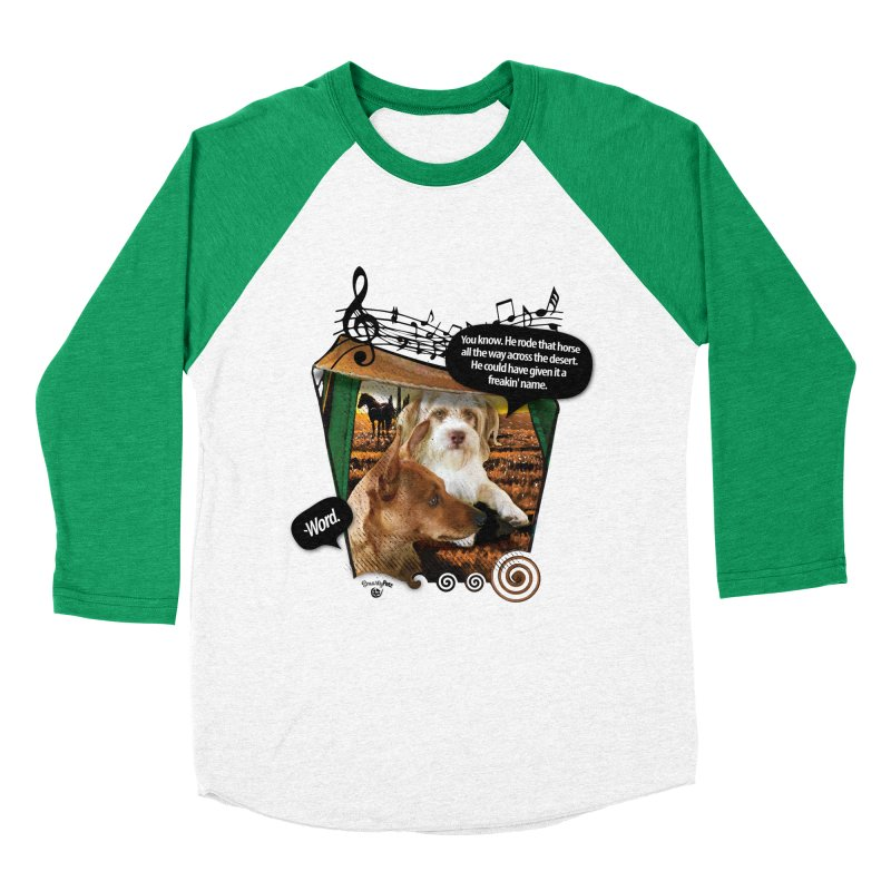 Horse with no name. Women's Baseball Triblend Longsleeve T-Shirt by Smarty Petz's Artist Shop