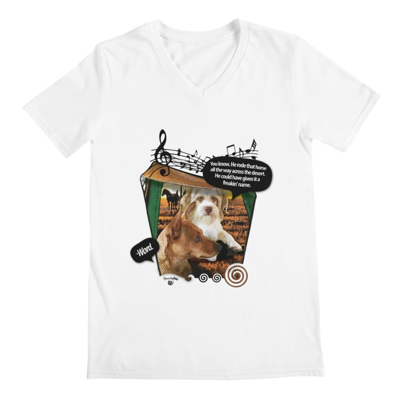 Horse with no name. Men's V-Neck by Smarty Petz's Artist Shop