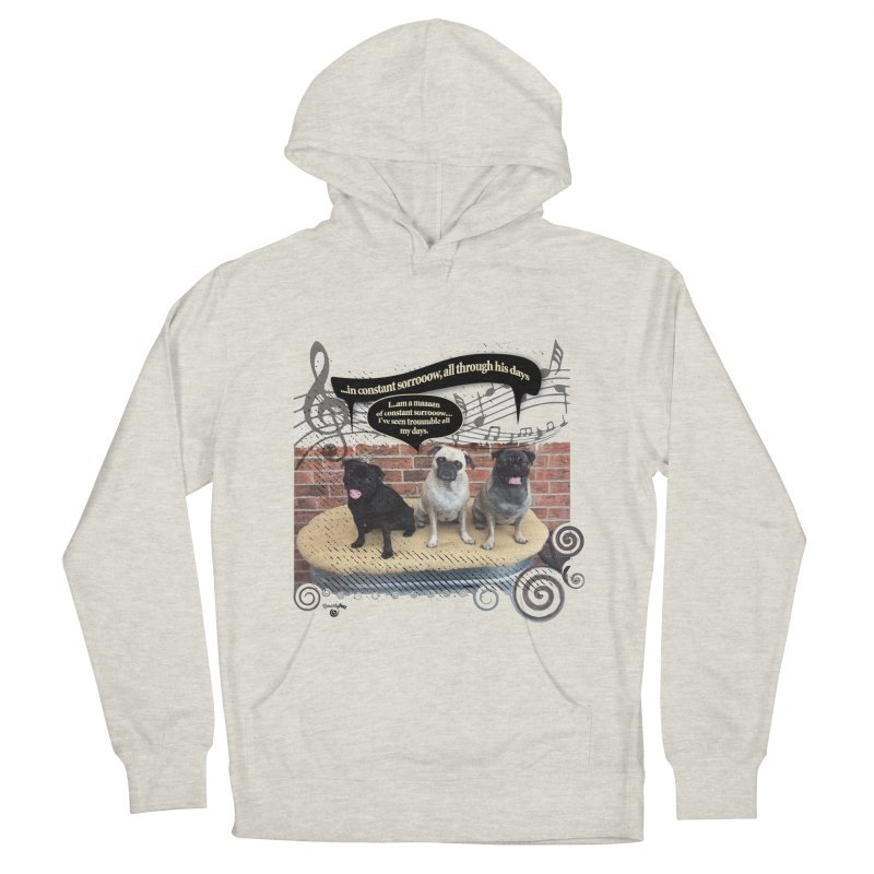 Soggy Bottom Boys! Women's French Terry Pullover Hoody by Smarty Petz's Artist Shop