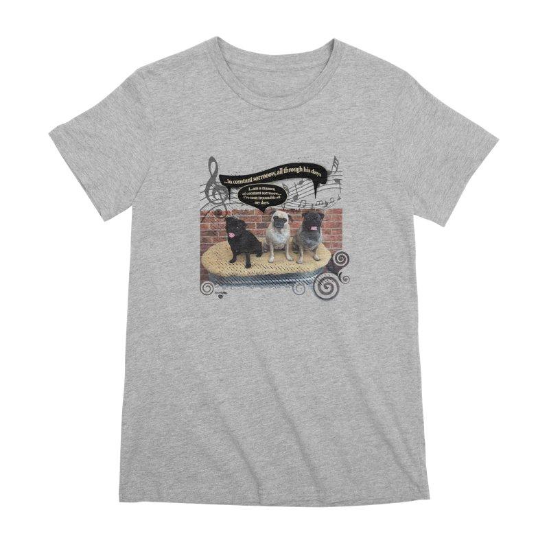 Soggy Bottom Boys! Women's Premium T-Shirt by Smarty Petz's Artist Shop