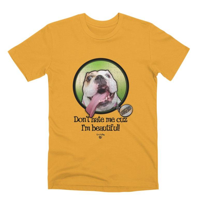 Gorgeous! Men's Premium T-Shirt by Smarty Petz's Artist Shop