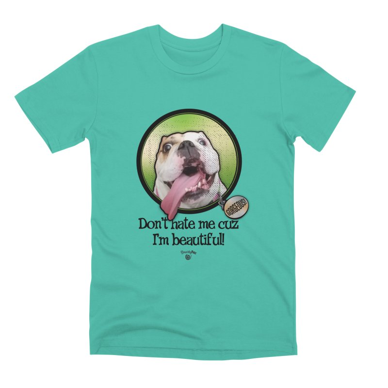 Gorgeous! Men's Premium T-Shirt by Smarty Petz's Artist Shop