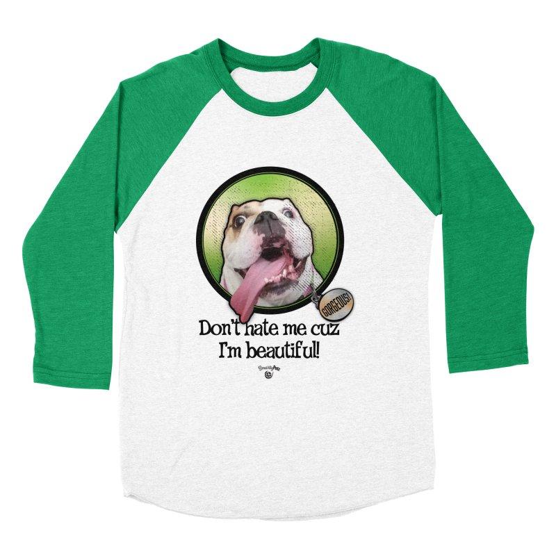 Gorgeous! Women's Baseball Triblend Longsleeve T-Shirt by Smarty Petz's Artist Shop
