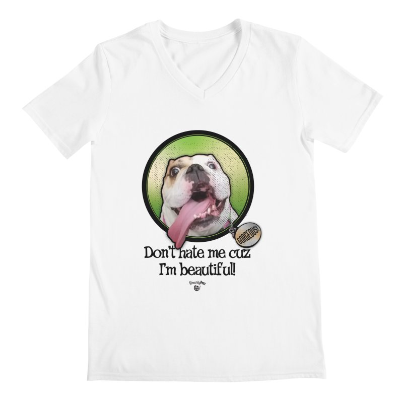Gorgeous! Men's Regular V-Neck by Smarty Petz's Artist Shop
