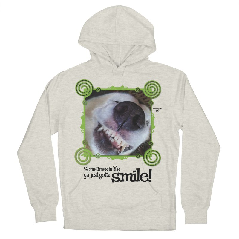 Smilely Women's French Terry Pullover Hoody by Smarty Petz's Artist Shop