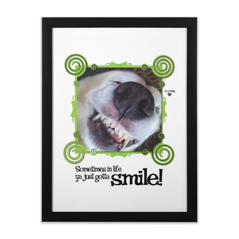 Smilely Home Framed Fine Art Print by Smarty Petz's Artist Shop