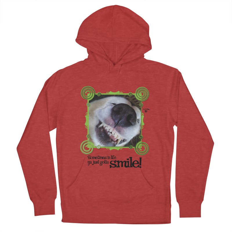 Smilely Men's French Terry Pullover Hoody by Smarty Petz's Artist Shop