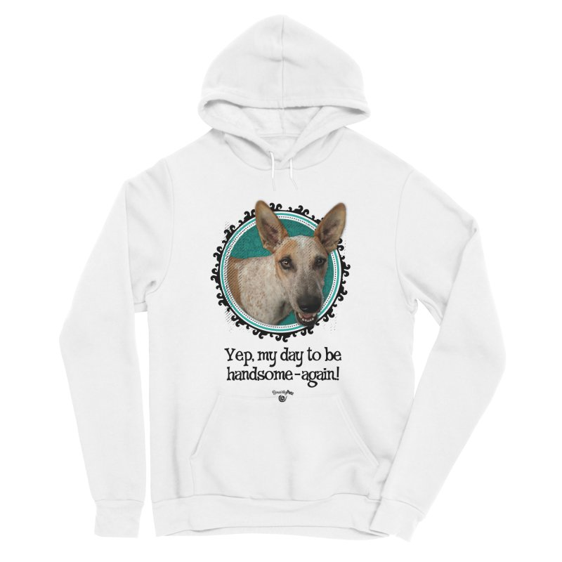 Handsome Men's Sponge Fleece Pullover Hoody by Smarty Petz's Artist Shop