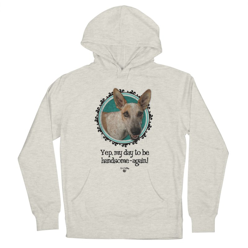 Handsome Men's French Terry Pullover Hoody by Smarty Petz's Artist Shop