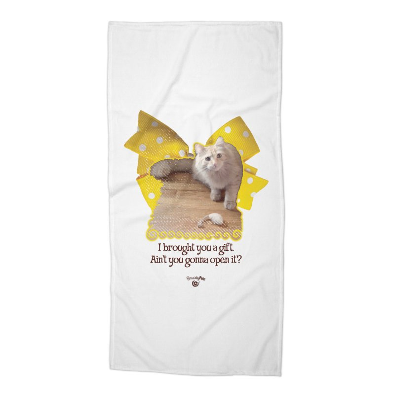 Gift Accessories Beach Towel by Smarty Petz's Artist Shop