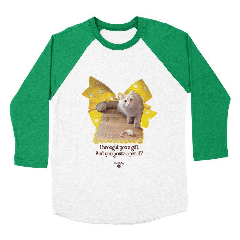 Gift Women's Baseball Triblend Longsleeve T-Shirt by Smarty Petz's Artist Shop