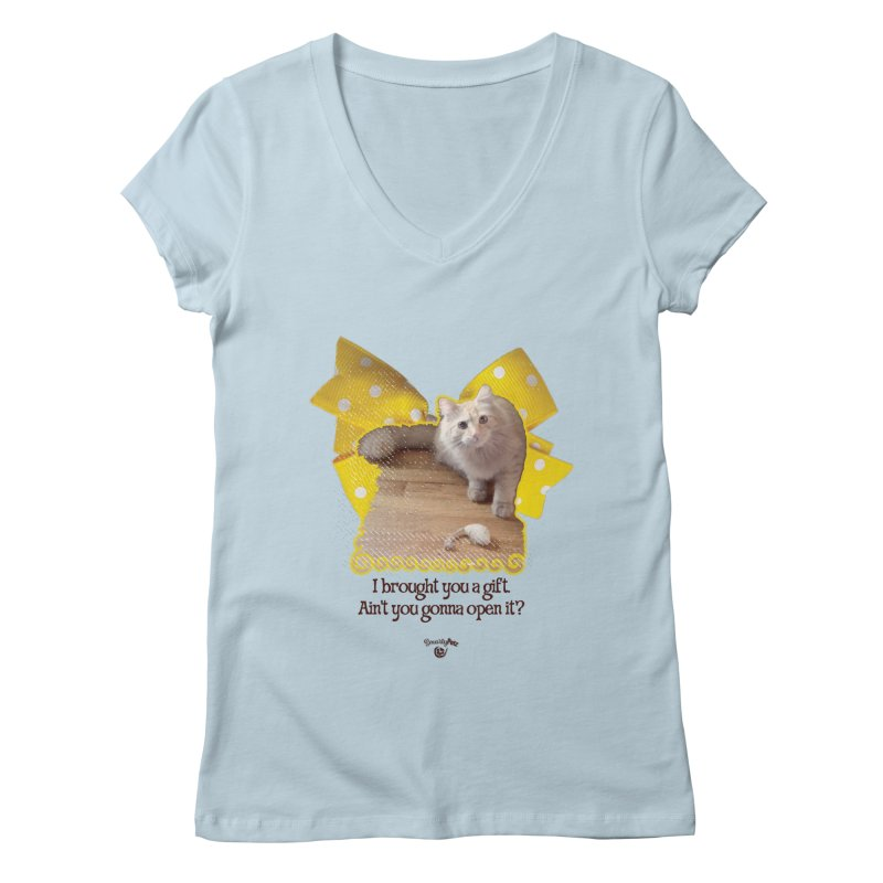 Gift Women's Regular V-Neck by Smarty Petz's Artist Shop