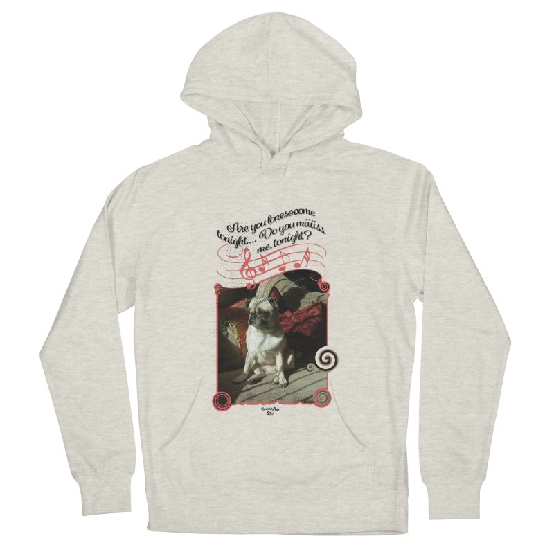 Lonesome Men's French Terry Pullover Hoody by Smarty Petz's Artist Shop