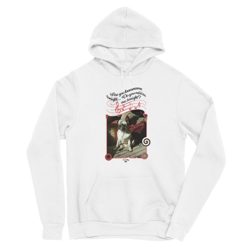 Lonesome Men's Pullover Hoody by Smarty Petz's Artist Shop