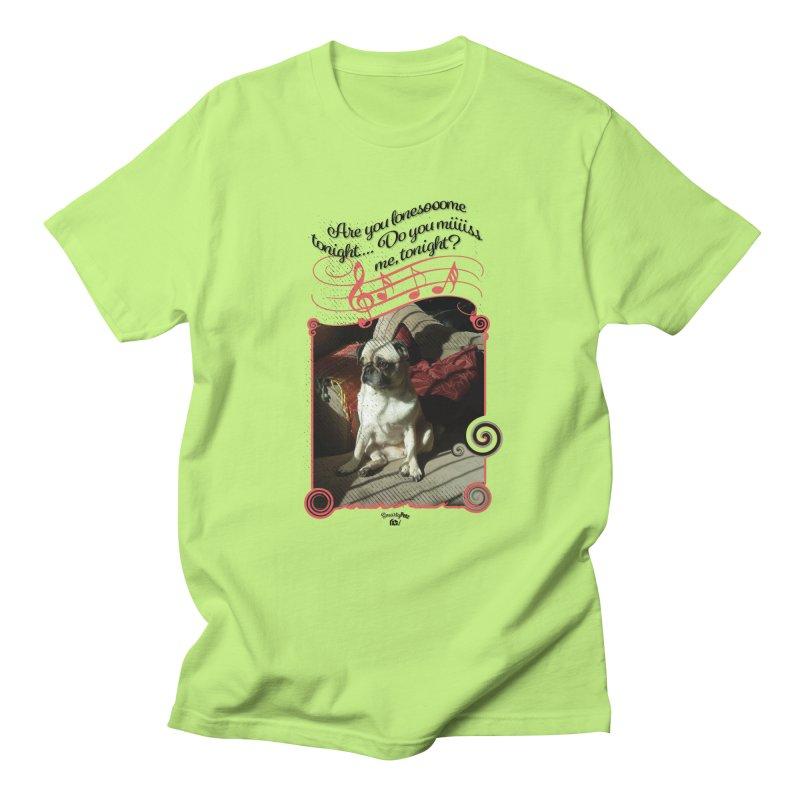 Lonesome Women's Regular Unisex T-Shirt by Smarty Petz's Artist Shop