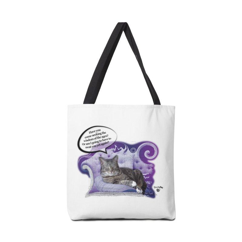 Seeking Wisdom Accessories Tote Bag Bag by Smarty Petz's Artist Shop