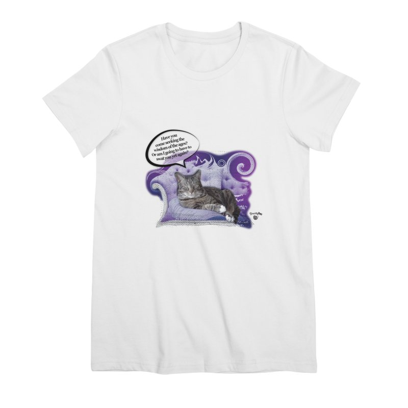Seeking Wisdom Women's Premium T-Shirt by Smarty Petz's Artist Shop