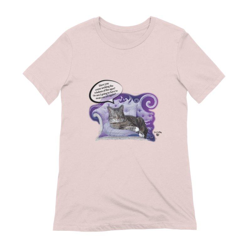 Seeking Wisdom Women's Extra Soft T-Shirt by Smarty Petz's Artist Shop