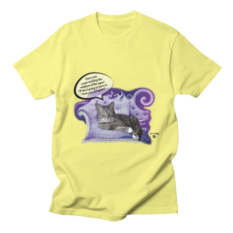 Seeking Wisdom Women's T-Shirt by Smarty Petz's Artist Shop