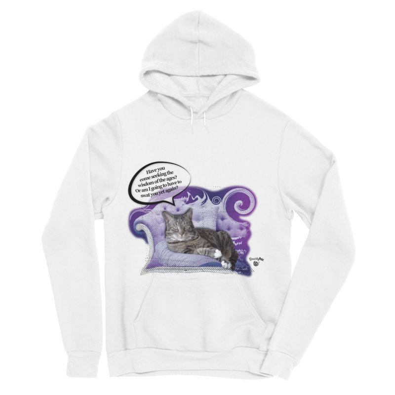 Seeking Wisdom Men's Sponge Fleece Pullover Hoody by Smarty Petz's Artist Shop